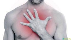 Тупые боли в области грудины