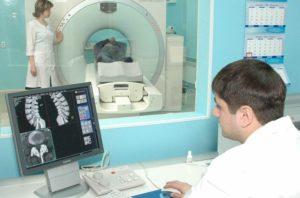 Компьютерная томография позвоночника