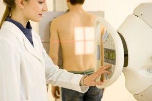 Прохождение рентгена грудной клетки