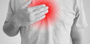 Ощущение боли в грудной клетке