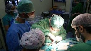 Операция по удалению хемодектомы